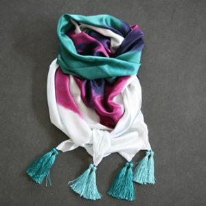 Zijden sjaal 801