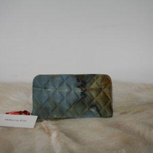 Zijden portemonnee