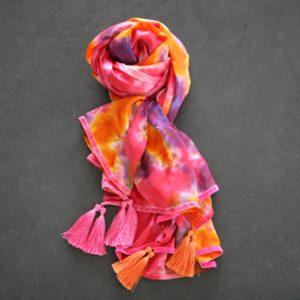 Zijden sjaal 711