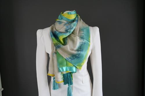 Zijden sjaal 713