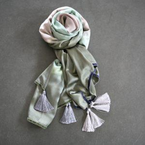 Zijden sjaal 802
