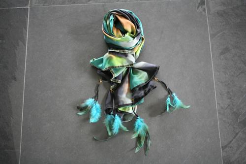Zijden sjaal 804