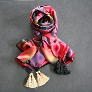 Zijden sjaal 805