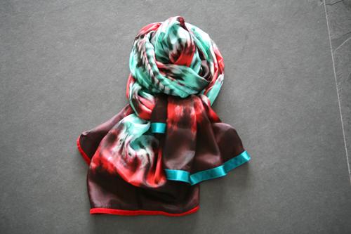 Zijden sjaal 501