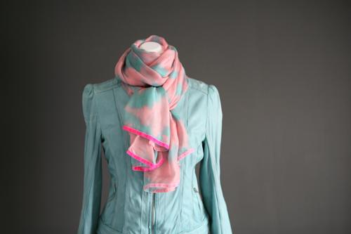 Zijde sjaal 502
