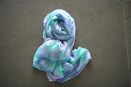 zijden sjaal 504