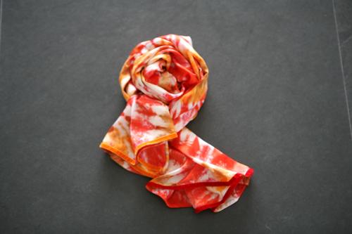Zijden sjaal 603
