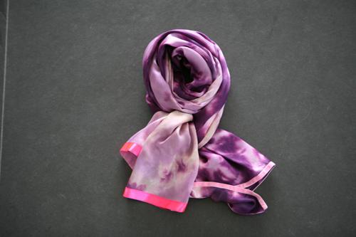 Zijden sjaal 705
