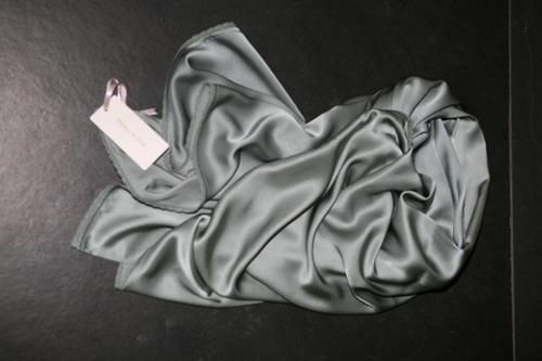 zijden sjaal Seagreen